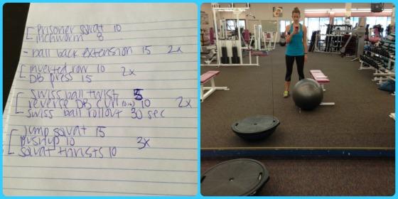 7.2 workouts