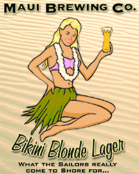 Bikini-Blonde-Sticker
